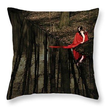 Between Worlds Throw Pillow