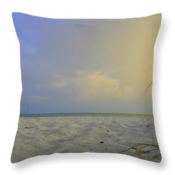 Betwen The Grass Throw Pillow