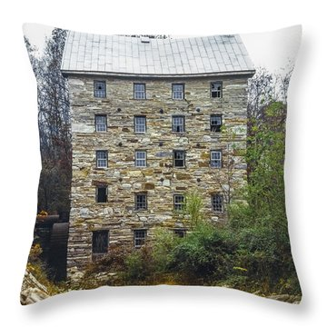 Beverly Mill II Throw Pillow