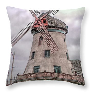 Bevo Mill Throw Pillow