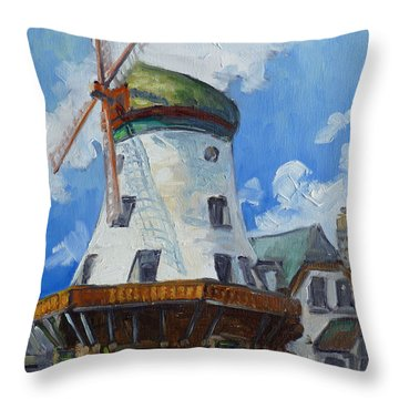 Bevo Mill - St. Louis Throw Pillow