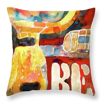 Bevo Unplugged Throw Pillow