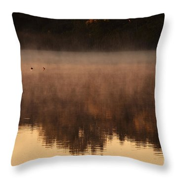 Throw Pillow featuring the photograph Bev's Retreat by Tamyra Ayles