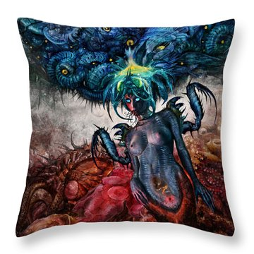 Beyond Cure Throw Pillow by Tony Koehl