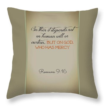 Beyond Our Imperfection Throw Pillow
