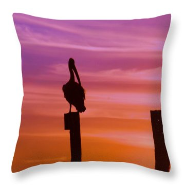Beyond Reality Throw Pillow