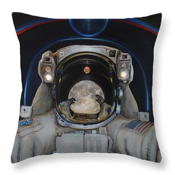 Beyond Throw Pillow by Simon Kregar