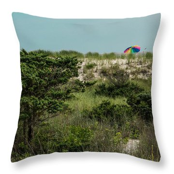 Beyond The Beach  Throw Pillow
