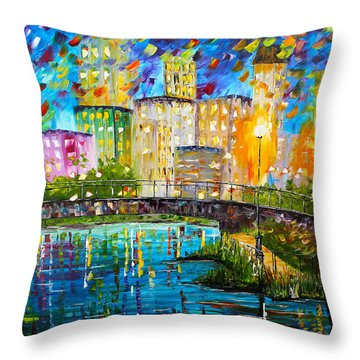 Beyond The Bridge Throw Pillow