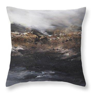 Beyond The Cliffs Throw Pillow