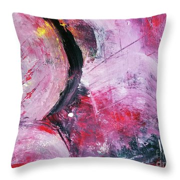 Beyond The Confines Throw Pillow by Maura Satchell