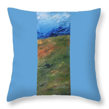 Beyond The Horizon Throw Pillow