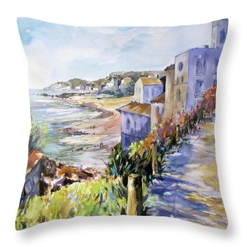 Beyond The Point Throw Pillow