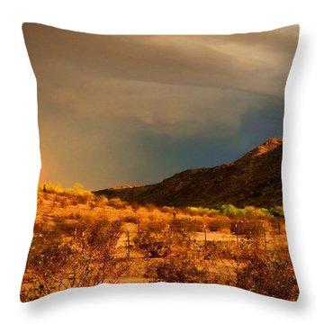 Beyond The Rainbow Throw Pillow
