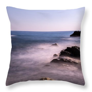 Beyond The Sea Throw Pillow by Cesare Bargiggia