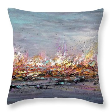 Beyond The Surge Throw Pillow