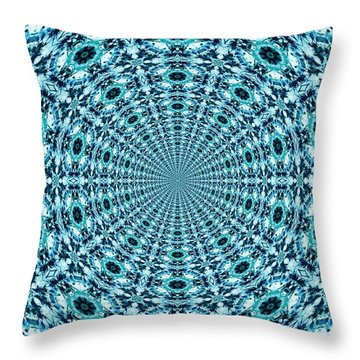 Beyond Time And Space Throw Pillow
