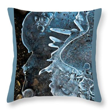 Throw Pillow featuring the photograph Beyond by Tom Cameron