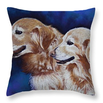 Bff Best Friends Forever Throw Pillow by Tracy L Teeter