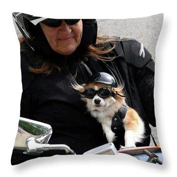 BFF Throw Pillow