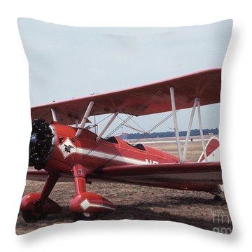 Bi-wing-1 Throw Pillow