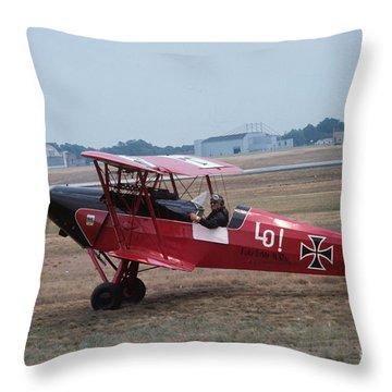 Bi-wing-2 Throw Pillow