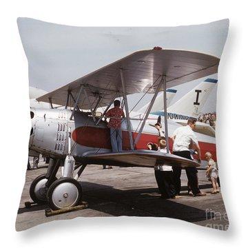 Bi-wing-3 Throw Pillow