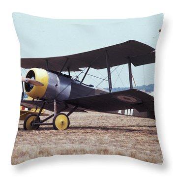 Bi-wing-4 Throw Pillow