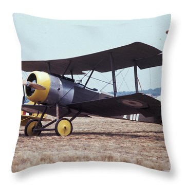 Bi-wing-4 Throw Pillow