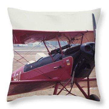 Bi-wing-5 Throw Pillow