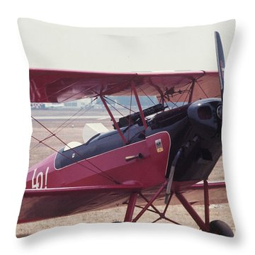 Bi-wing-5 Throw Pillow