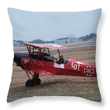 Bi-wing-7 Throw Pillow