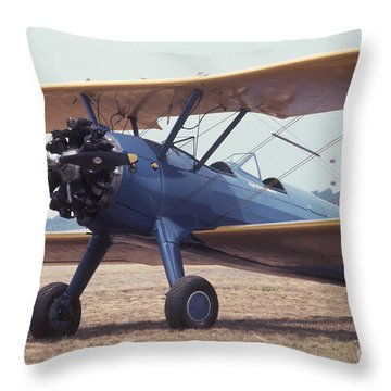 Bi-wing-8 Throw Pillow