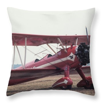 Bi-wing-9 Throw Pillow