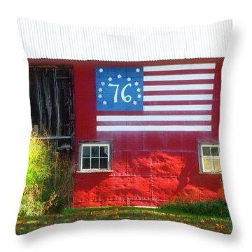 Bicentennial Throw Pillow