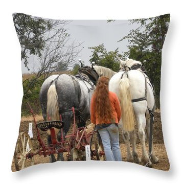 Bickleshire 8 Throw Pillow