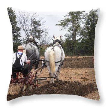 Bickleshire Farm 4 Throw Pillow
