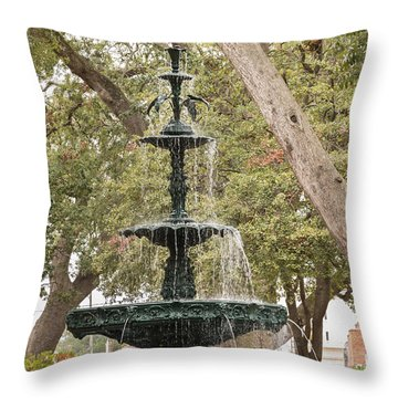 Throw Pillow featuring the photograph Bienville Beauty by Julie Andel