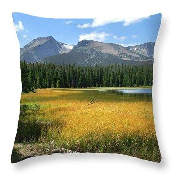 Autumn At Bierstadt Lake Throw Pillow