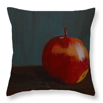 Big Apple Throw Pillow by Russell Smidt