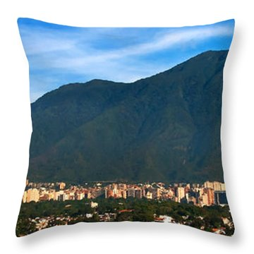 Big Avila Throw Pillow