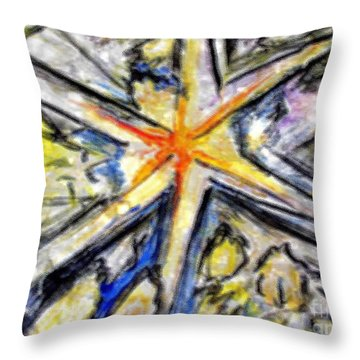 Big Bang Impression Throw Pillow