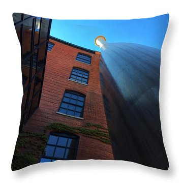 Big Bat  Throw Pillow