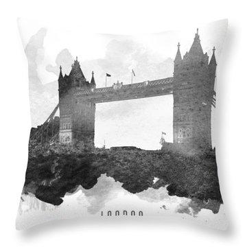 Big Ben London 11 Throw Pillow
