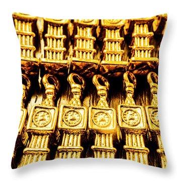 Big Ben The Clock Collector Throw Pillow