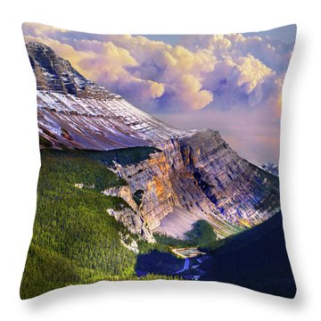 Big Bend Throw Pillow by John Poon