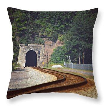 Big Bend Tunnel  Throw Pillow