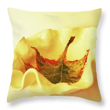 Throw Pillow featuring the photograph Big Bowl1 by Itzhak Richter