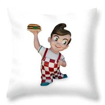 The Big Boy Throw Pillow
