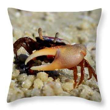 Big Claw Throw Pillow